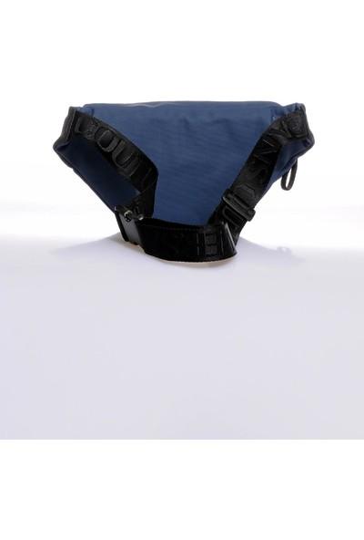 Versace J. Couture E1 YZBB22 Lacivert Erkek Bel Çantası