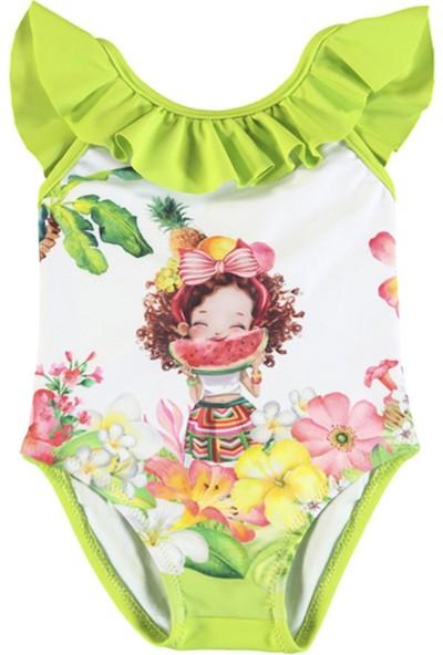 Mayoral Kız Bebek Mayo Fıstık Yeşili 1717