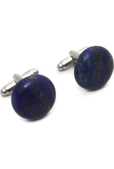Ocean Pole Lapis Lazuli Kol Düğmesi
