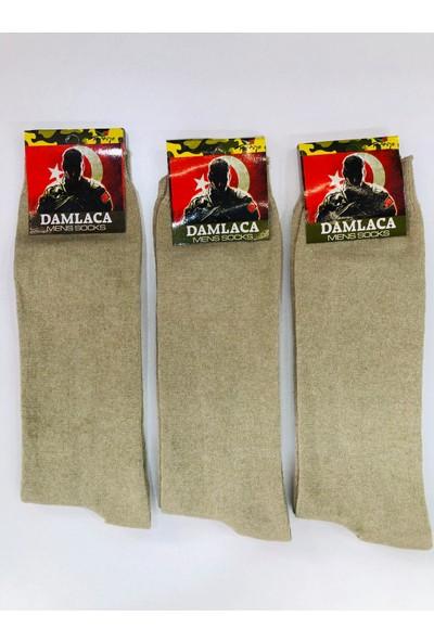 Damlaca 12'li Asker Çorabı