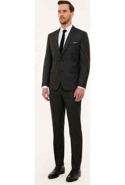 Pierre Cardin Antrasit Slim Fit Takım Elbise 50230063-VR006