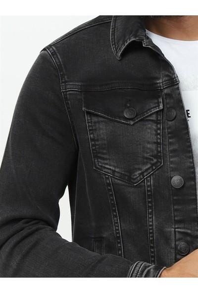 Twister Erkek Siyah Kot Ceket Tımex J41-04 Tımex J41-04TWİSTERKOT Mont M