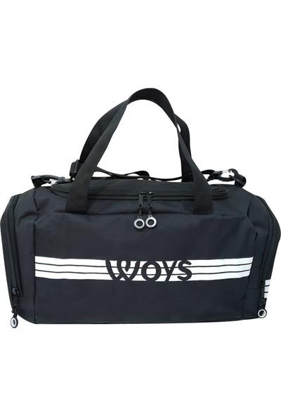 Woys Spor Çanta Termal ve Ayakkabı Bölmeli Sporcu Çantası