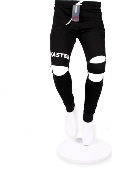 Giymex Erkek Eşofman Siyah Beyaz