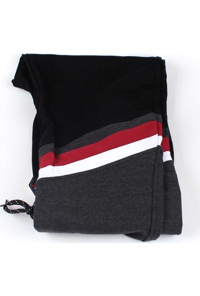 Giymex Erkek Eşofman Siyah Gri