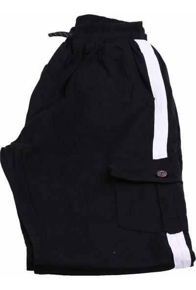 Giymex Erkek Eşofman Kargo Cep Siyah