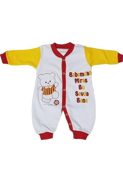 AlpCollection Galatasaray Fanatik Bebek Pamuklu Tulum