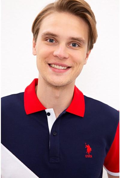 U.S. Polo Assn. Erkek Kırmızı T-Shirt 50218354-Vr030