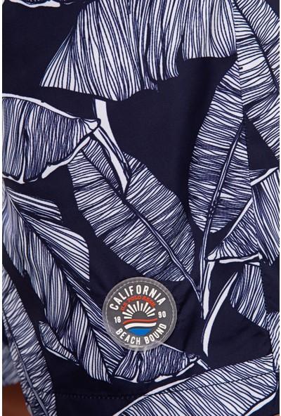 U.S. Polo Assn. Erkek Lacivert Deniz Şortu 50218765-Vr033