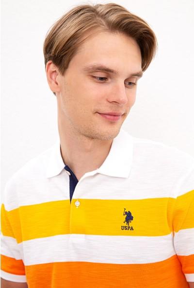U.S. Polo Assn. Erkek Sarı T-Shirt 50218862-Vr094