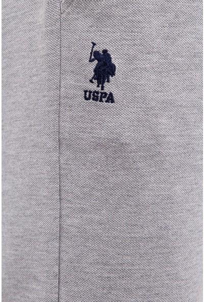 U.S. Polo Assn. Erkek Gri Örme Şort 50222631-Vr086