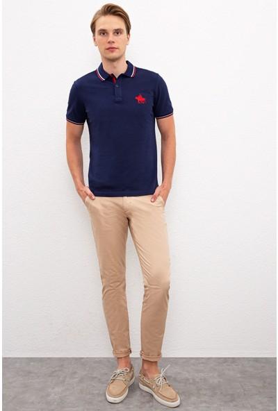 U.S. Polo Assn. Erkek Lacivert T-Shirt 50225241-Vr033