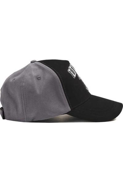 Ucla Siyah Baseball Cap Nakışlı Erkek Şapka