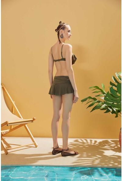 Sunlife Kaplı Etekli Bikini