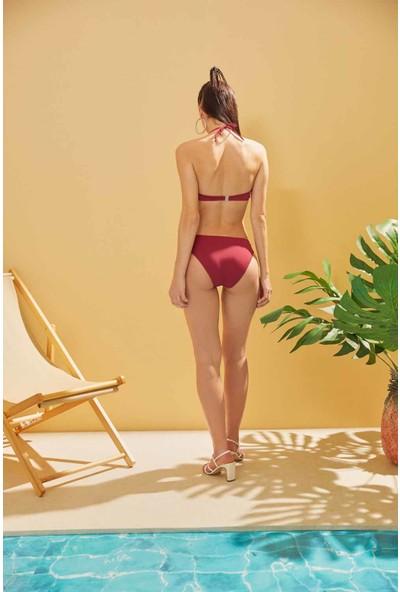 Sunlife Kaplı Straplez Bikini