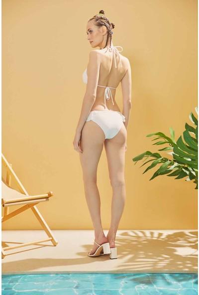 Sunlife Üçgen Volanlı Bikini