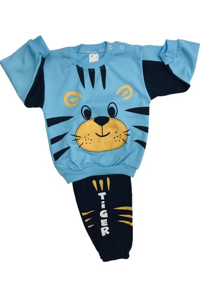 Çağkon Tiger Bebek Pijama Takım Pamuk