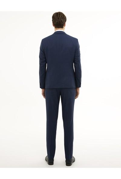 Pierre Cardin Açık Lacivert Slim Fit Takım Elbise 50230062-VR059