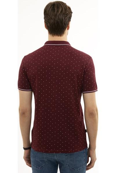 Pierre Cardin Bordo Slim Fit T-Shirt 50226835-VR014