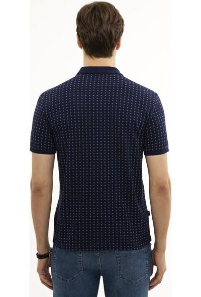 Pierre Cardin Lacivert Slim Fit T-Shirt 50226515-VR033