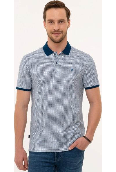 Pierre Cardin Lacivert Slim Fit T-Shirt 50226637-VR033