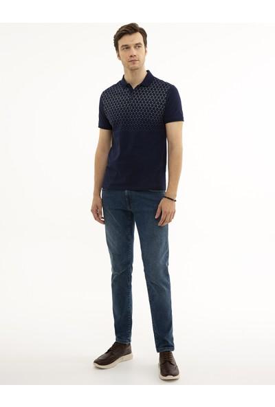 Pierre Cardin Lacivert Slim Fit T-Shirt 50226838-VR033