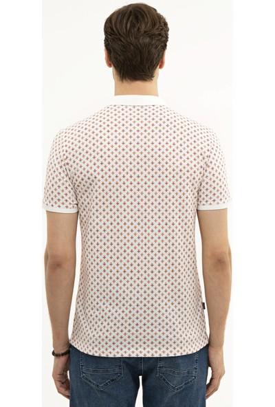 Pierre Cardin Beyaz Slim Fit T-Shirt 50226954-VR014