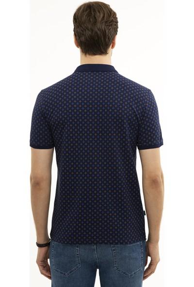 Pierre Cardin Lacivert Slim Fit T-Shirt 50226954-VR033