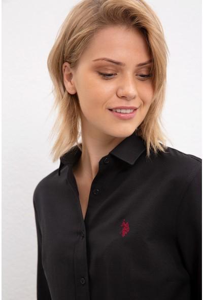 U.S. Polo Assn. Kadın Gömlek Uzunkol Basic 50231191-VR046