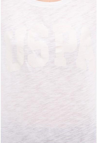 U.S. Polo Assn. Kadın T-Shirt 50225789-VR013