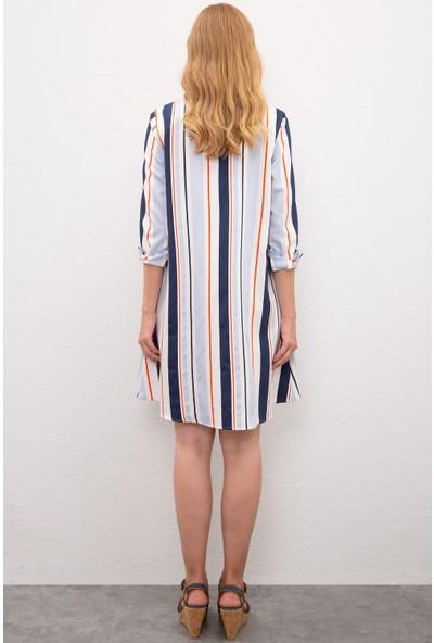 U.S. Polo Assn. Kadın Dokuma Elbise 50218476-VR036