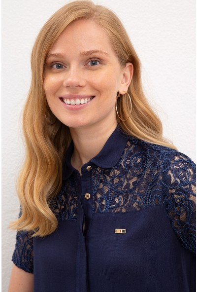 U.S. Polo Assn. Kadın Gömlek Kısakol 50218892-VR033
