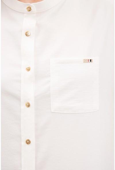 U.S. Polo Assn. Kadın Gömlek Kısakol 50218785-VR019