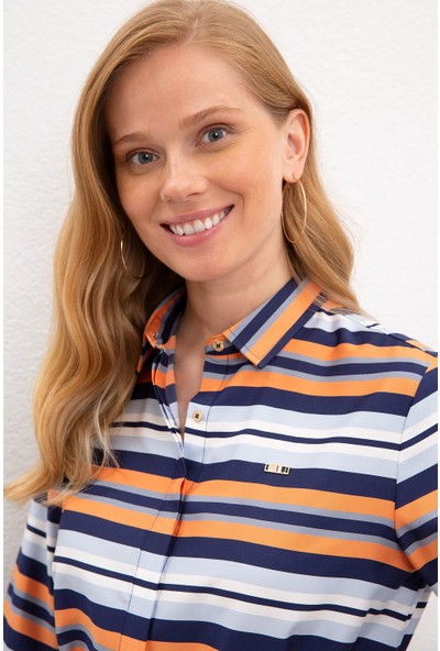 U.S. Polo Assn. Kadın Dokuma Elbise 50219755-VR033