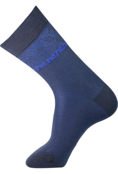 Roff Modal Erkek Soket Çorabı 6'lı Lacivert 40 - 45