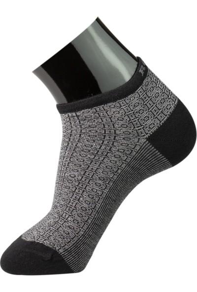 Roff Tencel Erkek Patik Çorabı 6'lı Çok Renkli 40 - 45