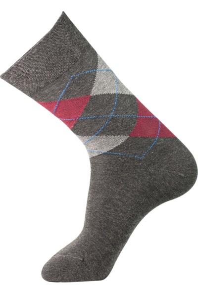 Roff Tencel Erkek Soket Çorabı 6'lı Çok Renkli 40 - 45