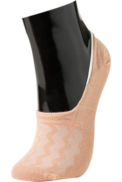 Roff Penye Modal Kadın Suba Çorabı 6'lı Çok Renkli 36 - 40