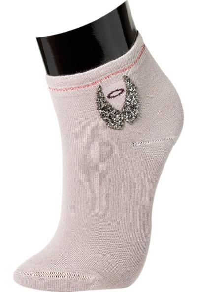 Roff Modal Aksesuarlı Kadın Patik Çorabı Çok Renkli 36 - 40