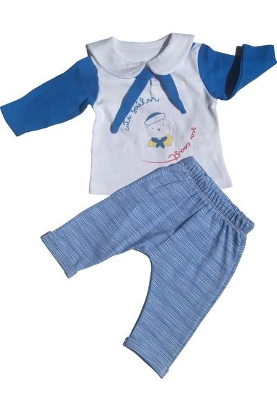 Bebitof Denizci Modeli Erkek Bebek Takım