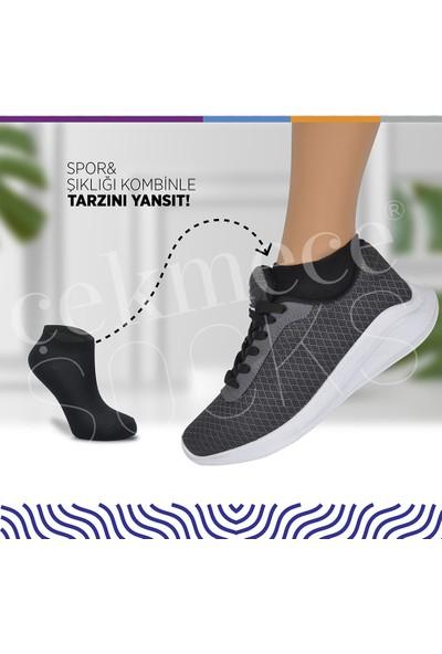 Çekmece 17'li Unisex Pamuk Spor Patik Çorap