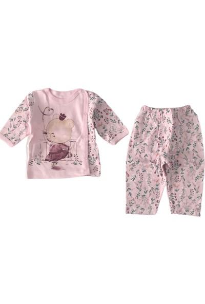 Hoppala Pembe Tavşan Kız Bebek Ikili Takım