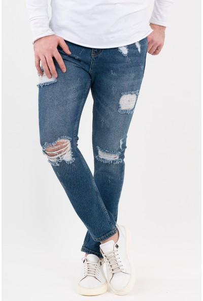 2Y Premium Yırtık Jean