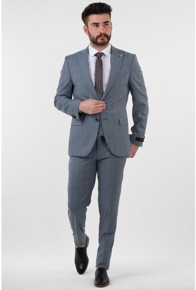 Sir Yelekli Takım Elbise