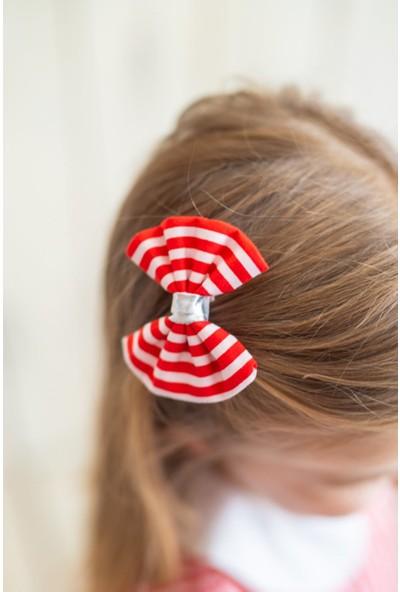 Pixy Love Kırmızı Kız Çocuk 2'Li Klips Strip