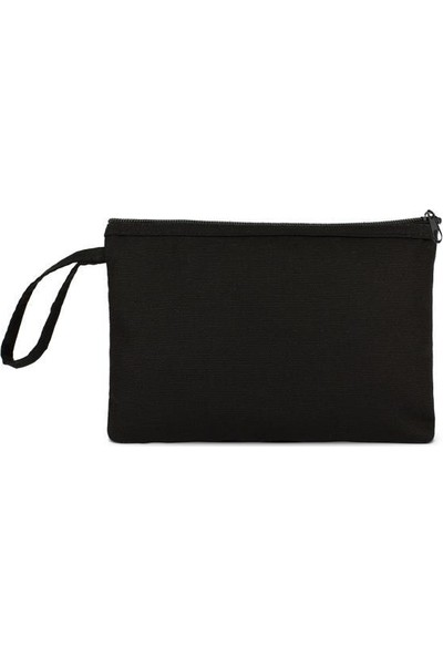 Çınar Bez Çanta Siyah Clutch Çanta