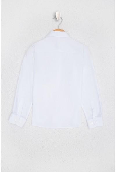 U.S. Polo Assn. Kız Çocuk Gömlek Uzunkol 50212079-VR013