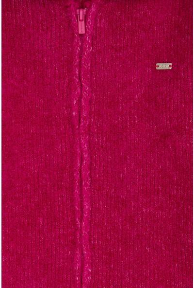 U.S. Polo Assn. Kız Çocuk Triko Hırka 50206151-VR167