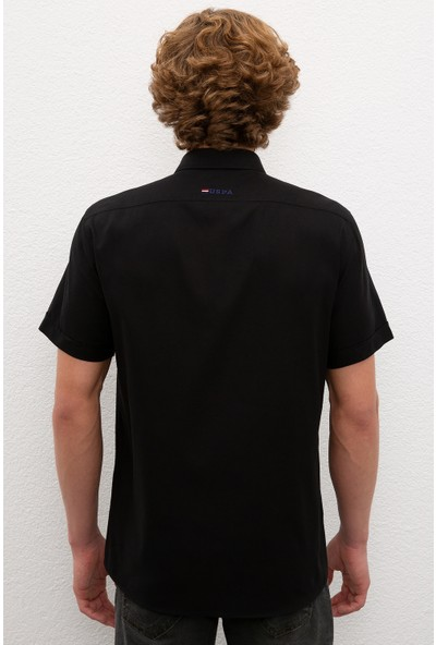 U.S. Polo Assn. Erkek Gömlek Kısakol 50200533-VR046