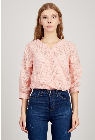 Manche Pembe Kadın Gömlek Mk20S162509
